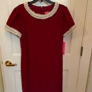 Betsy Johnson Red Dress
